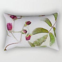 Frozen roses Rectangular Pillow