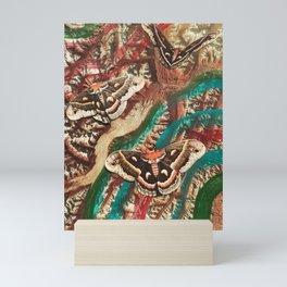 butterfly canyon Mini Art Print