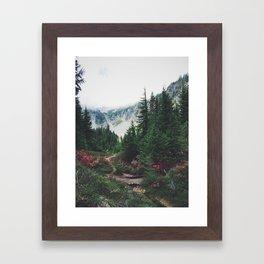 Mountain Trails Framed Art Print