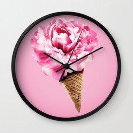 IcecreamFlower Wall Clock