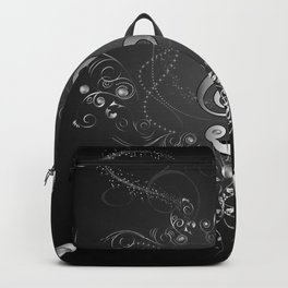 Clef with floral elements Backpack