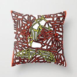 Landorms Series - StoneRoses #14 Throw Pillow