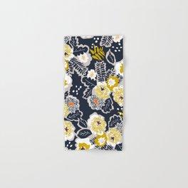 Scandinavian flowers greet you Hand & Bath Towel