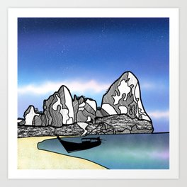 Tropical Beach Thailand Art Print