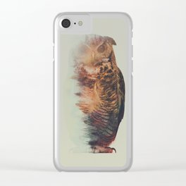 Norwegian Woods: The Owl Clear iPhone Case