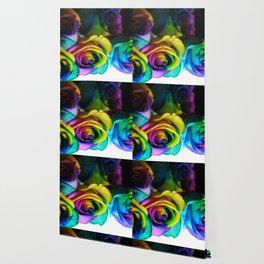 Rainbow Roses 19 Wallpaper
