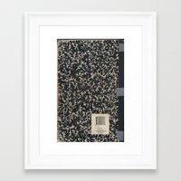 notebook Framed Art Prints featuring Notebook by Zepto Grfx