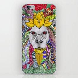 Medusa Lioness iPhone Skin
