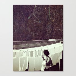 Happiness of the Housekeeper.. Canvas Print