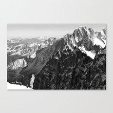 French Alps, Chamonix, France. (2) Canvas Print