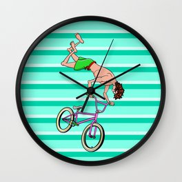 BMX Freestyle Wall Clock