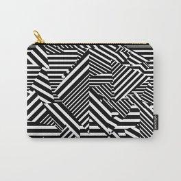 Dazzle Camo #01 - Black & White Carry-All Pouch
