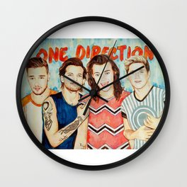 One Direction, Louis, Niall, Liam, Harry, Singer Wall Clock