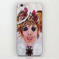 abigail larson iPhone & iPod Skins featuring Abigail by EloiseArt