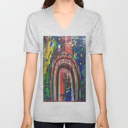 There Is Nothing Left Over The Rainbow Unisex V-Neck