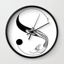 Mermaid Alphabet - S Wall Clock