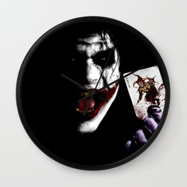 The face and card Wall Clock