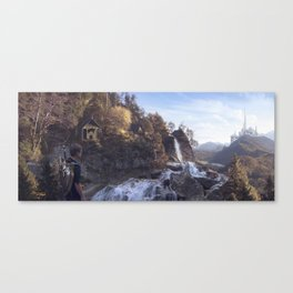Ivory Castle Canvas Print