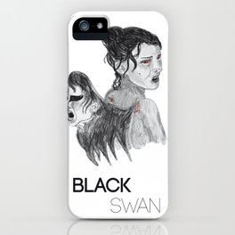 Black Swan I iPhone Case