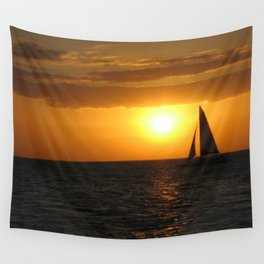 A Night's Sail Wall Tapestry