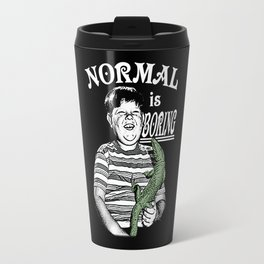 Pugsley: Normal is Boring Travel Mug