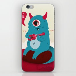 The singing Monster iPhone Skin