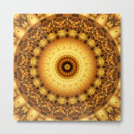 Mandala Star dust 2 Metal Print