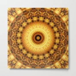 Mandala Star dust 2 Metal Print