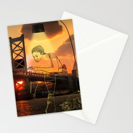 Work From Home Philadelphia Stationery Cards