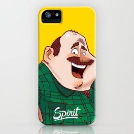 HAPPY MAN by SPIRIT iPhone Case