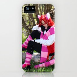 Riverside Cheshire Grell iPhone Case