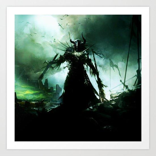final battle Art Print