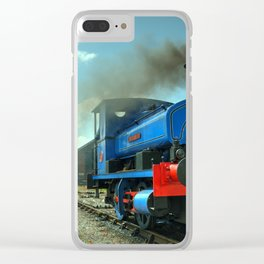 Lady Nan at Cranmore Clear iPhone Case