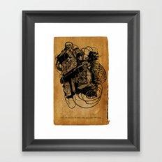 Gospel Machine #1 Framed Art Print
