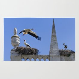 Faro storks Rug