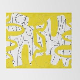 Open Book Throw Blanket