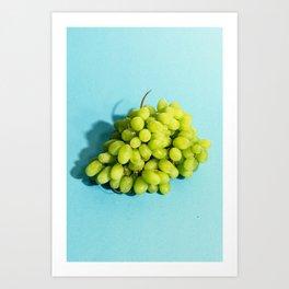 Grapes Art Print