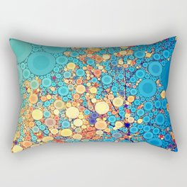 Sky and Leaves Rectangular Pillow