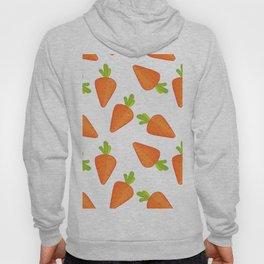 carrot pattern Hoody