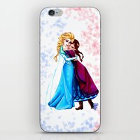 sisters iPhone & iPod Skins featuring Sisters by Siney