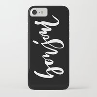 bonjour iPhone & iPod Cases featuring Bonjour by The Fine Letter Co.