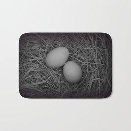 B&W Eggs Bath Mat
