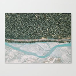 Up Top Looking Down Canvas Print