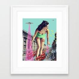 Rush Hour Madness Framed Art Print