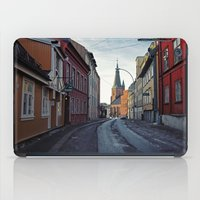 oslo iPad Cases featuring Oslo street by Lauren Cassidy