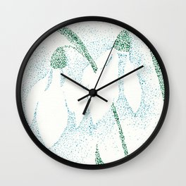 flower II Wall Clock