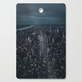 empire state building nyc Cutting Board