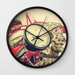 The Italian Motorcycle I Wall Clock