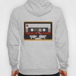 The cassette tape cat Hoody