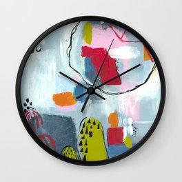 Prickly pear Wall Clock